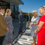 New Heli Appeal Ambassadors Paul and Emma Ainsworth met The Duchess