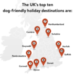 Map – Dog Friendly Holiday Regions in the UK