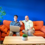 Headforwards – Craig Girvan (Left) and Toby Parkins72